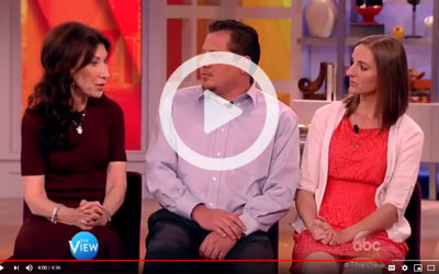 ABC's The View: Baby Quest Foundation helps couples become parents