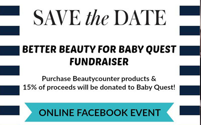 BeautyCounter Fundraiser, March 2017
